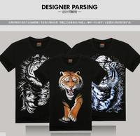 [Magic] Hot models new design for t-shirt 2014 new style men/women 3D t shirt short sleeve summer cotton tshirt free shipping