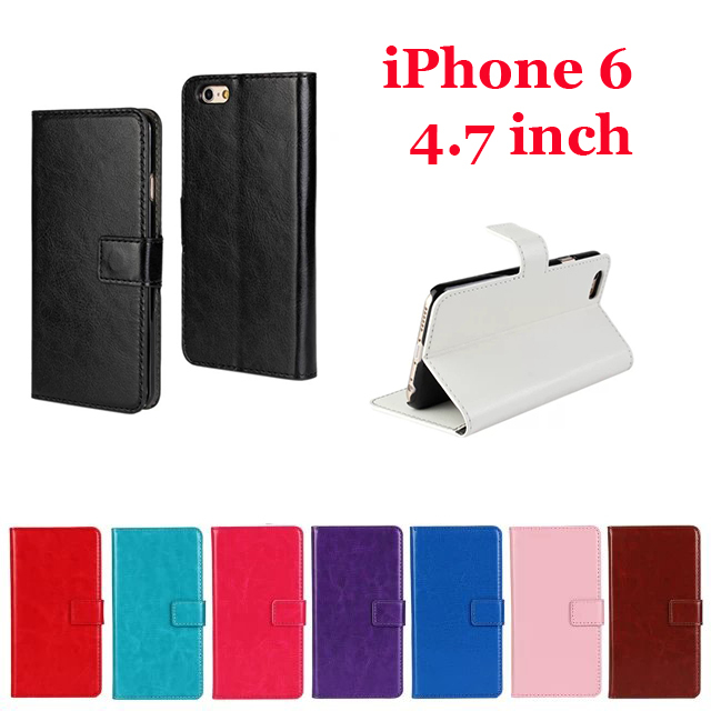 Чехол для для мобильных телефонов 50 dhl] iPhone6 4,7 4.7 Stand Wallet Leather Case For iPhone 6 iPhone6 4.7 inch polka dots leather wallet stand case for iphone 7 4 7 inch black