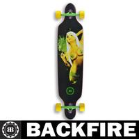 Backfire  2014 New Design canadian skate longboard complete sector 9 longboard skateboards