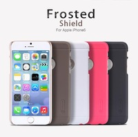 New Original  Nillkin super frosted shield hard case for Apple iPhone 6 with screen protector film + retail package freeshipping