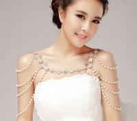 Bride Shoulder Chain Jewelry Wedding Necklace Accessories Wholesales