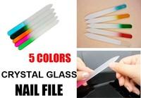 Durable Crystal nail File Glass nail File Nail Art Buffer Files For Manicure UV Polish Tool (mini order $6)