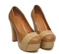 woman highBlock Heel pumps platform ladies shoes sexy shoes dress night party retro shoes ky 829-17