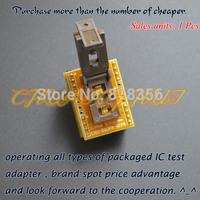 SSOP8 to DIP8 Programmer adapter TSSOP8 test socket Pitch=0.65mm width=4.4/6.4mm