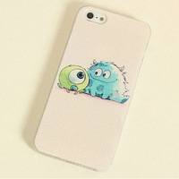 free shipping new Monster University Design Cartoon hard back Case for Apple iphone 6 4.7 inch lovely 3D Cute case