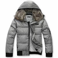 Winter new men's fashion short down cotton padded coat