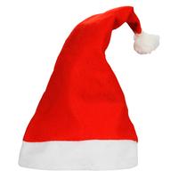 10pcs/lot 2014 New Year Christmas Decoration Santa Claus Ornament Hats Caps