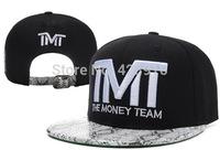 """2014 New Retro High-quality """"TMT"""" Men Flat Brim Snapback Hip Hop Rap Hat Baseball Cap Adjustable"""