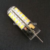 LED Lamp SMD2835 G4 48LEDs 7W Corn Light AC/DC12V 360 Degree  100pcs/lot Free shipping