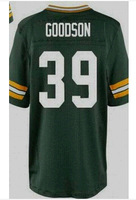 Free Shipping Men American Football Jersey, #39 Demetri Goodson Jerseys White,Green Stitched Embroidery Logo, Accept Mix Order