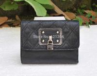 New 2014 fashion monederos women leather purse short wallet