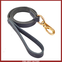 Free Shipping Factory Directly 100% Genuine Full-grain Cow Leather Lead Dog Pet Leash 1pc/lot Traction Rope OEM ODM Valid