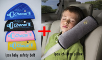 Children Car seat belts pillow of Child with safety belt for child Protect the shoulder, adjust device baby child safety belt