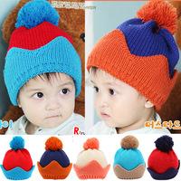 Winter 1 Piece Cartoon Bomber Hats Baby Cap, Cute lovey children's handmade Hats,Baby Boy/girls Caps