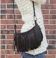 2014 women's handbag small tassel bag messenger shoulder  PU female bags female small