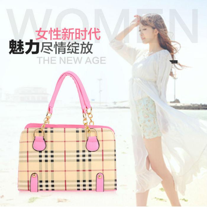 2014 new high-end PU Women's Shoulder Bags,Fashion party Women's Tote Zipper Free Shipping White(China (Mainland))