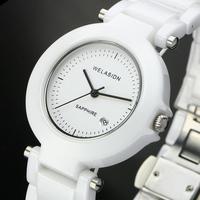 WELASIDN Princeton Genuine white ceramic watches female form Korean couple tide tables ultrathin Ladies watches