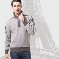 Fashion Autumn And Winter Man Sweater Pullover Thickening Men Knitted Sweater Cardigan Men Plus Size M-XXXL