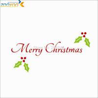 christmas festival wall sticker wall decor 2014 new designs zooyooxmas23 Christmas ornament diy vinyl wall decal home decoration