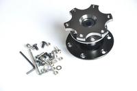 Universal Titanium Dexterous Quick Adapter, Racing Steering Wheel Bottom , Quick Release-Car Styling
