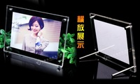 """10"""" photo frame clear acrylic table offical tents acrylic menu holder size 291*240mm/11.4""""*9.4""""plexiglass item display card"""