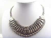 2014 new original single necklace platinum necklaces exaggerated colors and elegant and generous fashion