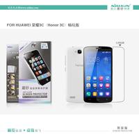 100% Brand NILLKIN Super HD Anti-fingerprint or Matte Scratch-resistant Screen protector For Huawei Honor 3C phone case