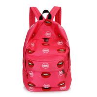 Sport Casual Student School Bag Mouth Design Nice Good Sale Handbags XBG068