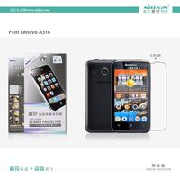 100% Brand NILLKIN Super HD Anti-fingerprint or Matte Scratch-resistant Screen protector For Lenovo A316 phone case