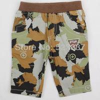 FREE SHIPPING D4065# 5 pcs/lot 2013 new fashion NOVA kids wear hot selling printed maple leaf boys' summer casual shorts