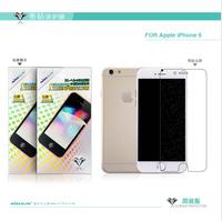 100% Brand NILLKIN Bright diamond Super HD Anti-fingerprint Screen protector For Apple iPhone 6 phone case