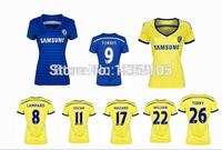 New Top! Best Thai Quality 14/15 Chelsea women Soccer Jerseys,Woman Chelsea 2015 Football Jersey
