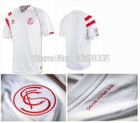New Top! Best Thai Quality 14/15 Sevilla Soccer Jerseys,Sevilla FC 2015 Bacca Gameiro Vitolo Rakitic Jairo Jerseys shirt