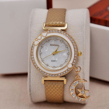 Fashion Rhinestone Lady Women Dress Watches Luxury Love Wristwatches Discount Women casual Quartz watch relogio feminino Clock
