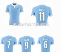 Top! Best Thai Quality 14/15 lazio Soccer Jerseys,2015 lazio shorts MAURI CLAUDIO SALAS KLOSE Jerseys