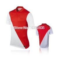 New Top! Best Thai Quality 14/15 Monaco Soccer Jerseys,Monaco 2015 shorts FALCAO MOUTINHO ABIDAL TOULALAN Rodriguez Jersey