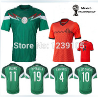 New Top! Best Thai Quality 2014 world Cup Mexico Jerseys home and away Mexico 2014 shorts Soccer Jerseys, free Shipping