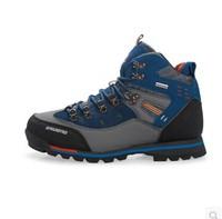 New 2014 men's high help outdoor hiking shoes men warm trekking shoes non-slip waterproof fishing shoes hiking boots 40-45