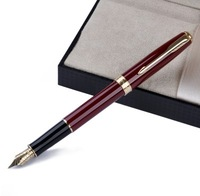 Authentic Parker pen, the Parker of new standard of drow ruby red clip pen / ink, top grade gift pen