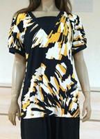 2014 New Fashion Brand Womens  T-shirts Summer Short Sleeve  Casual design big  woman  t-shirt tops free size