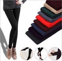 Winter Leggings For Women  Slim Fit Casual Warm Faux Velvet Legging Knitted Thick Leggings Super Elastic