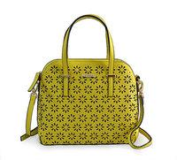 Free shipping KS fashion handbags laser engraving cross pattern openwork shell bag women handbag Messenger bag