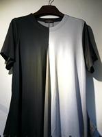 lady free size loose t-shirt women short sleeve t-shirt