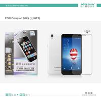 Coolpad  F2 Case,NILLKIN Super HD Anti-fingerprint or Matte Scratch-resistant Screen Protector For Coolpad 8675 F2 Phone case