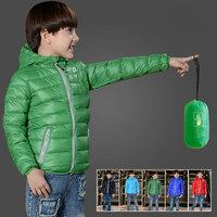 Children's Duck Down Jacket Hooded Winter OuterWear Kids Coat Girls kyptka Boys Parka 2104 Casual-Jacket to Girl Size 2T to 12