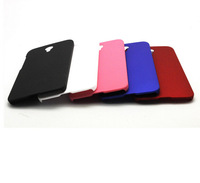 Alcatel 6037D Cover,New Rubber Hard Back Case For Alcatel one touch IDOL 2 6037B 6037Y Mix color Free shipping