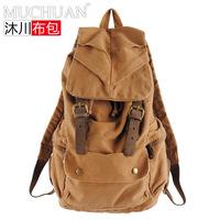 Women bag men's backpacks Korean fashion brand shoulder schoolbag travel bag canvas casual men's travel bags