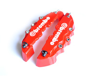 7222 3D Brembo Small  Size Caliper Cover 19 CM Red Build Your Car