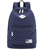 Women Bag backpacks Korean middle school students shoulder bag backpack shoulders storm -point printing casual handbag