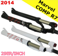 2014 newest Manitou Marvel COMP R7/R-SEVEN 29er/inch  air/gas fork,shoulder/remote control push lockout XC fork